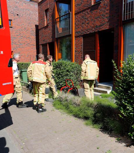 Brand in woning aan Grasrups in Eindhoven