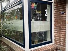 Elke dag plopt ergens een adventsraampje als verrassing op in een van de straten van Deventer