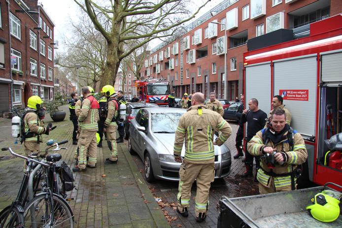 Niemand raakte gewond en de brandweer had het vuur snel onder controle.