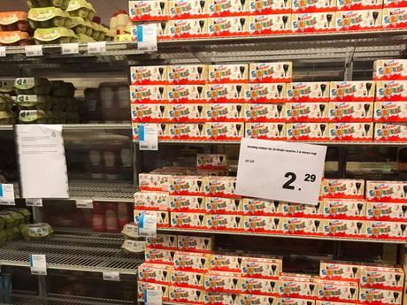 Supermarkt Hardinxveld lost eiercrisis op met 'surprise'