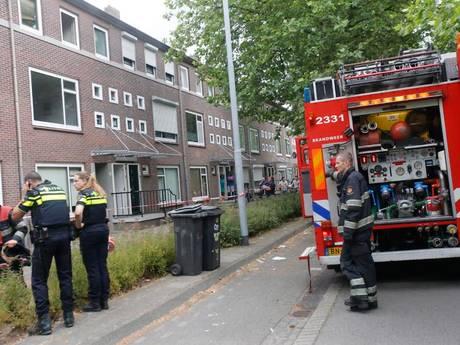 Lichtgewonde bij keukenbrand in Eindhoven