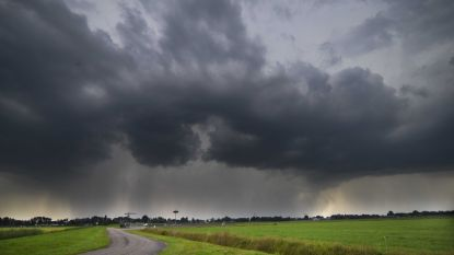 KMI waarschuwt voor hevige onweersbuien: opnieuw code oranje, speciaal noodnummer 1722 blijft actief tot morgen
