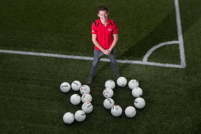 Jaap van Doorn werd in 2016 al eens regiotopscorer met dertig treffers.