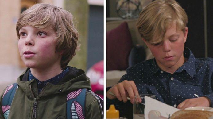 Het kapsel van Frits De Ruyter, die Robin speelt, ziet er nu anders uit.
