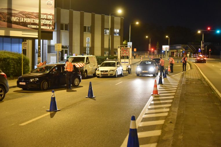 Alcoholcontrole in Oudergem