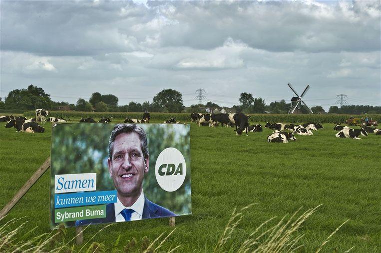 Het CDA trok onder Sybrand Buma veel kiezers op het platteland, maar scoorde slecht in de steden. Dat moet anders, vindt De Jonge.  Beeld ANP