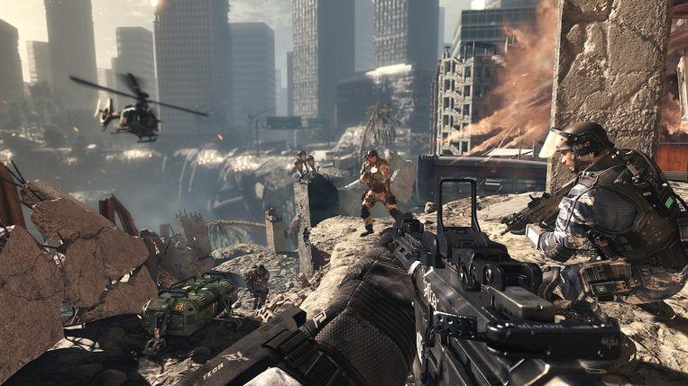 Beeld uit Call of Duty: Ghosts, één van de oudere spellen uit de reeks.