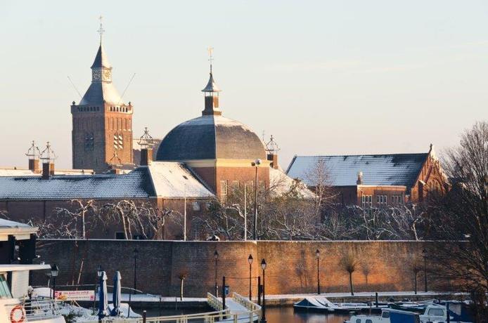 Een winterse plaat van Leerdam.