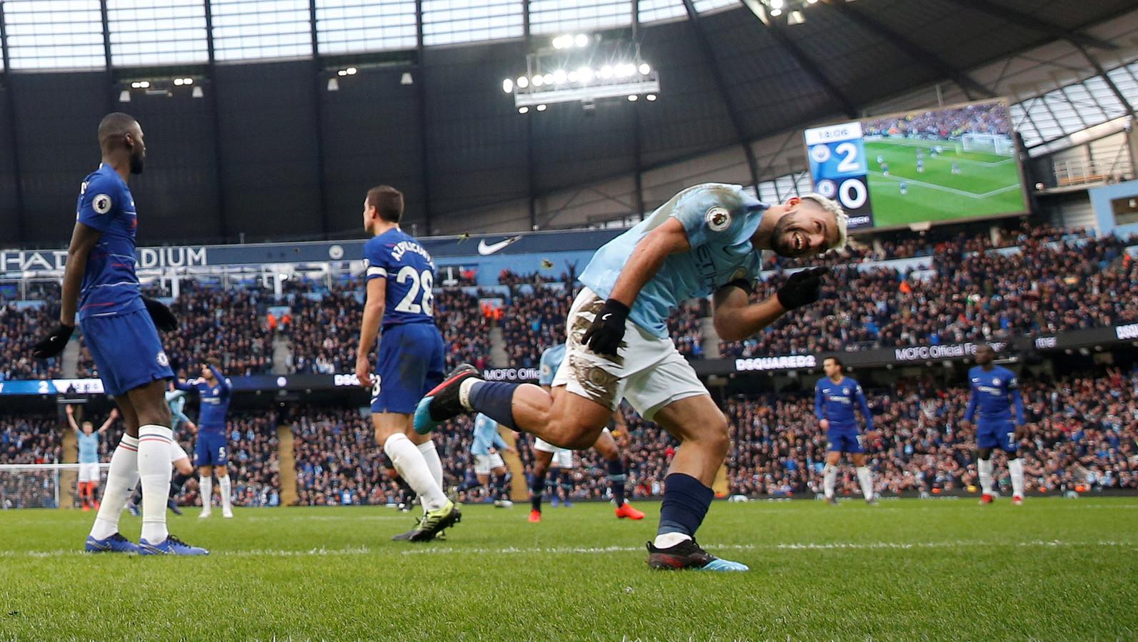Op 10 februari won Manchester City met 6-0 van Chelsea. Na 25 minuten stond het toen al 4-0. Zaterdagavond staan de clubs opnieuw tegenover elkaar in het Etihad Stadium.