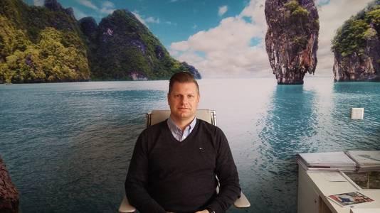Fabian Dolman, directeur Quality Welness Resorts (QWR), dat Thermen Berendonck in Wijchen gaat bouwen.