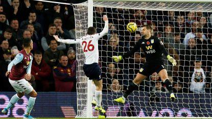 Liverpool pakt in extremis de zege na goals in 88ste en 94ste minuut in Villa Park