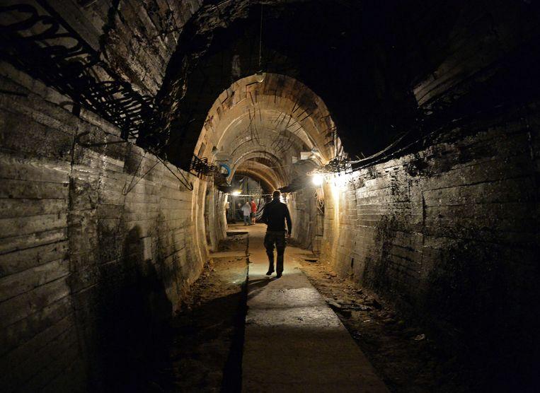 Een van de ondergrondse tunnels van Project Riese.