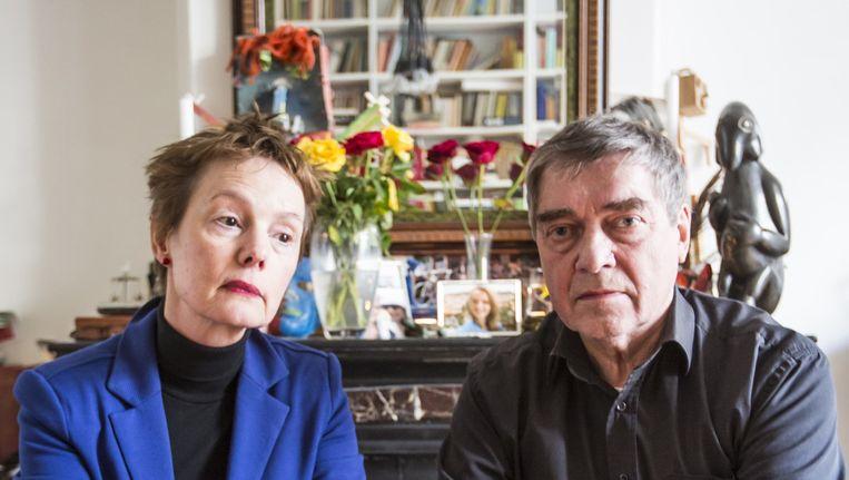 De ouders van Sophia zamelen geld in voor de speurtocht naar hun dochter Beeld Eva Plevier