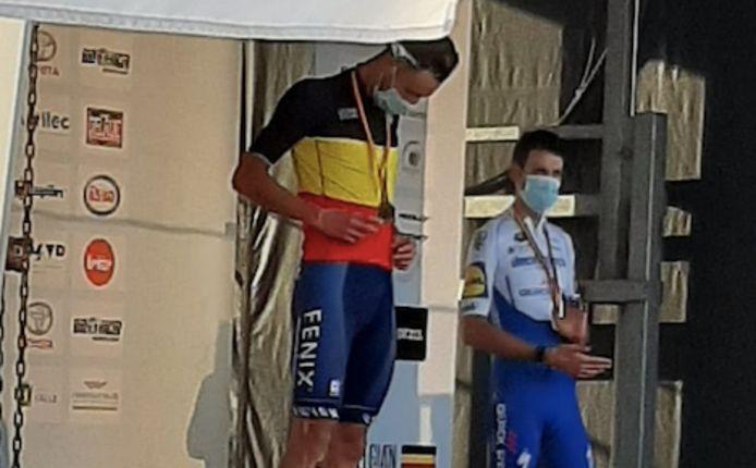Dries De Bondt is Belgisch kampioen.