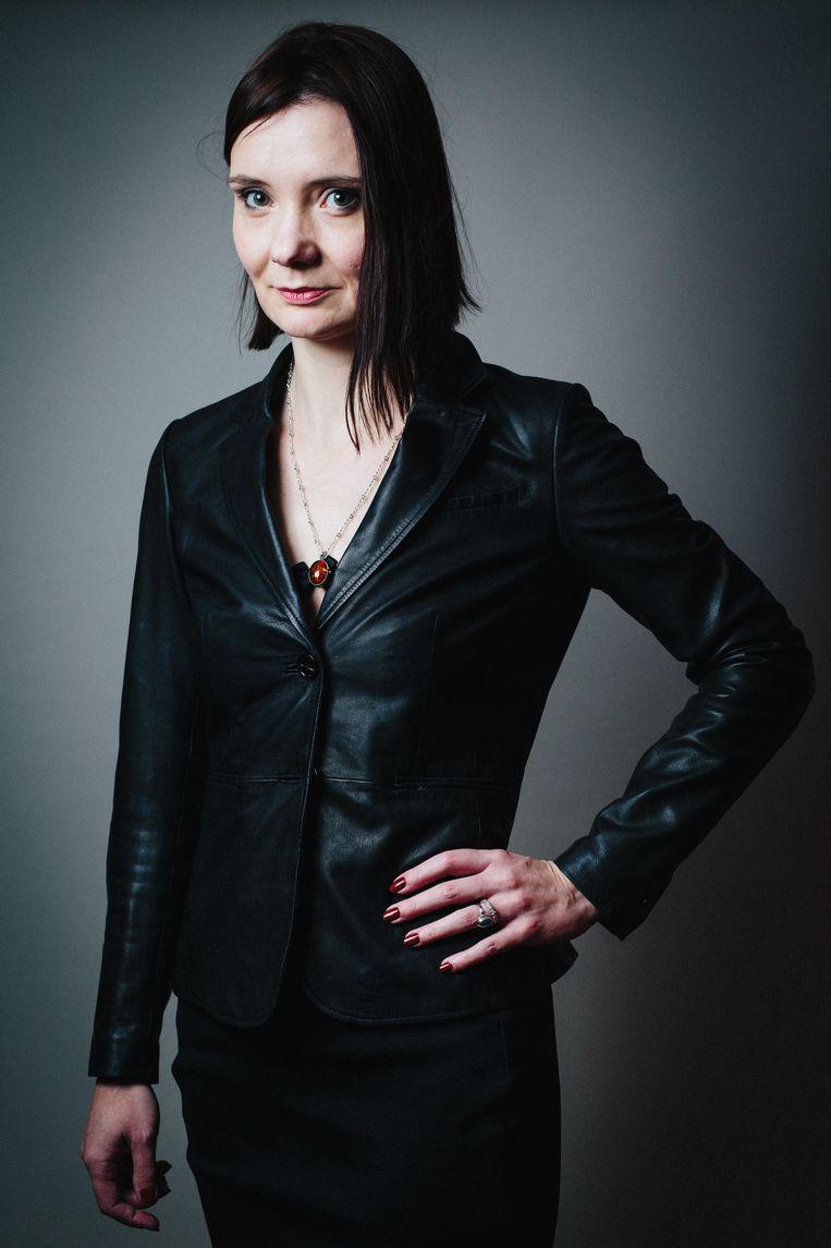 Nadine Akkerman. Beeld Rob Blackham