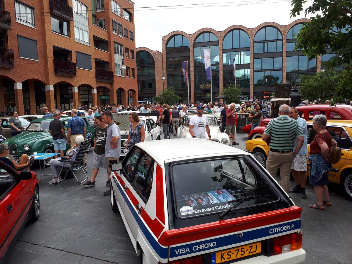 Oldtimermeeting in Nijverdal 2018.