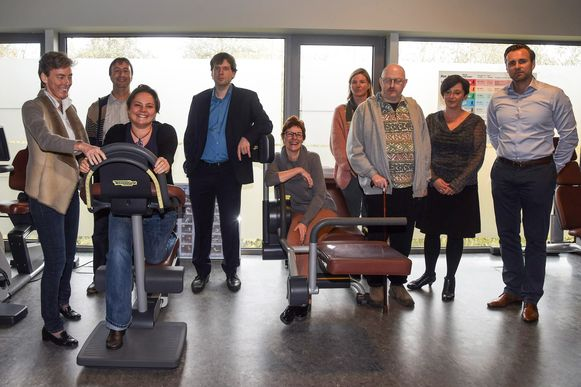 Bij Meirdam Sport kunnen MS-patiënten samen en onder begeleiding op een veilige manier sporten.