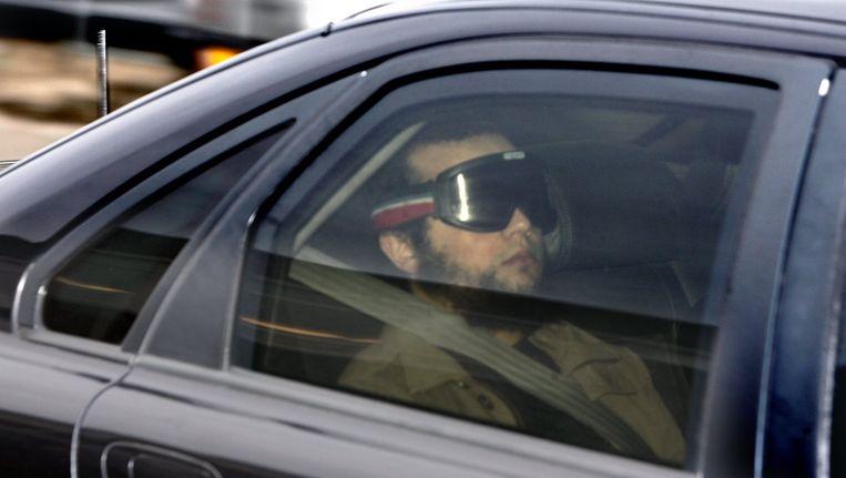 Mohammed B. onderweg naar de rechtbank. Beeld anp