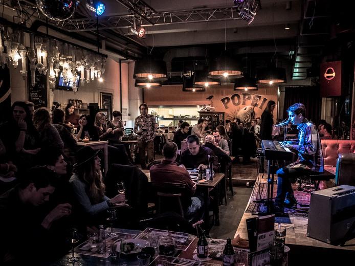 Singer-songwriters treden op tijdens PUURliedjes in popcentrum PopEi.
