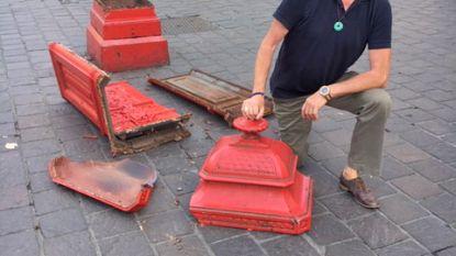 Gents 'icoon' kapot gereden op Sint-Veerleplein