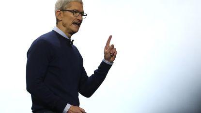 Apple-baas heeft ontmoeting met Trump
