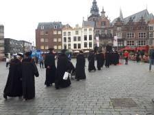 Academische optocht voor 95 jaar Radboud Universiteit