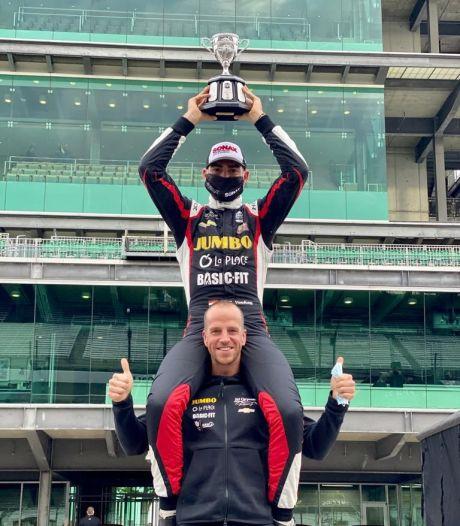 Eerste podiumplaats voor Van Kalmthout in Indycar