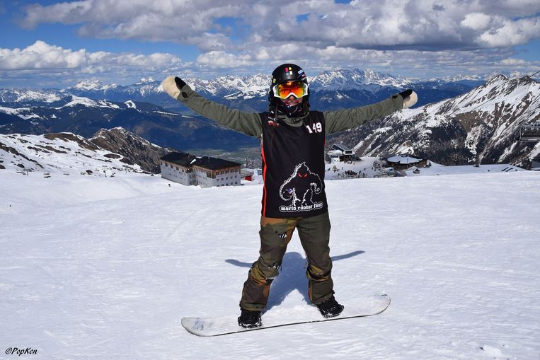 Evy mag nu al mikken op de Winterspelen van 2022.