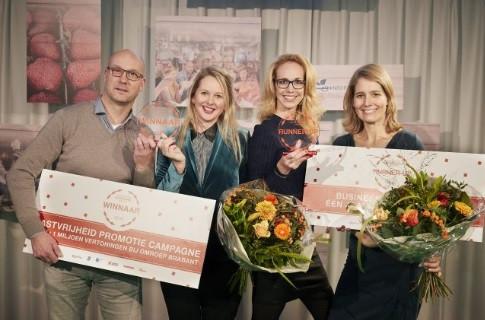 De winnaars van de Gastvrijheid Awards.