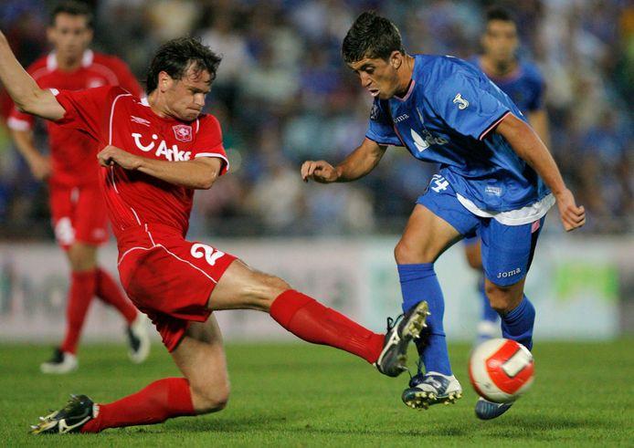 Robbie Wielaert in duel met Pablo