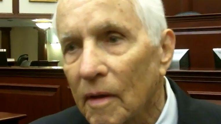 Jonh Land, burgemeester van Apopka Florida Beeld screenshot