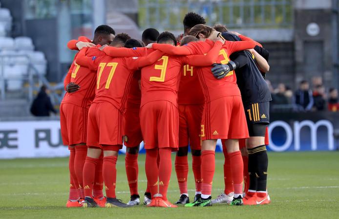 L'équipe U17 de la Belgique à Dublin
