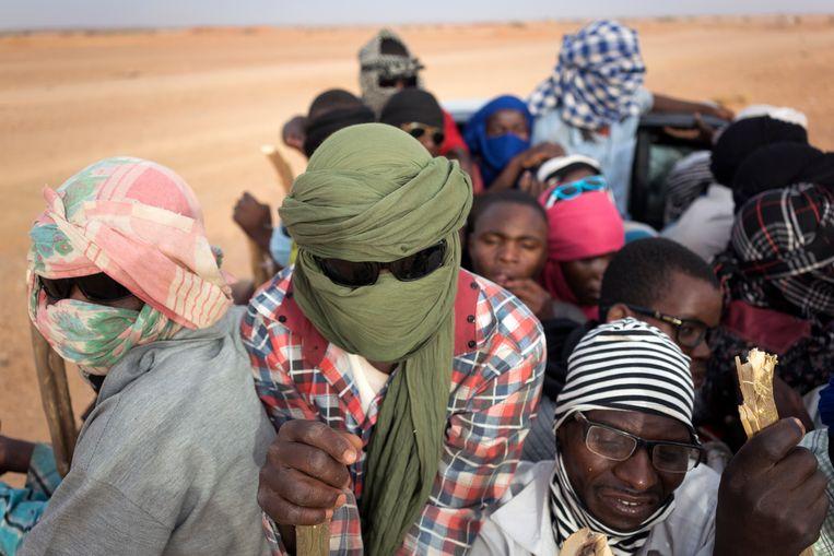 Nigerianen en andere West-Afrikanen zijn op weg naar Libië vanuit Agadez in Niger. In een tweet van vrijdag al zei de IOM-vertegenwoordiger van Niger, Giuseppe Loprete, dat zijn agentschap 391 migranten van 16 nationaliteiten heeft geholpen aan de grens van Niger en Algerije. Onder hen Ivorianen, Senegalezen, Guineeërs en Kameroeners.