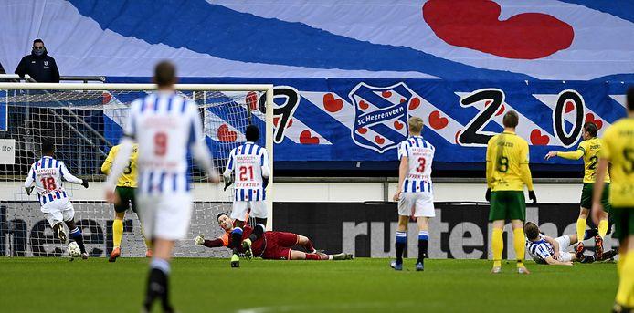 SC Heerenveen in actie