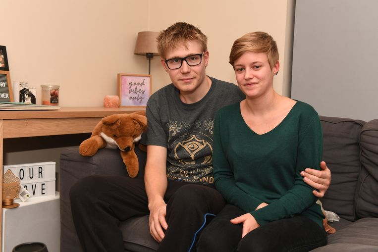 Kenzie Lahaye (24) en Ibe Van Aeken (21) uit Rotselaar.