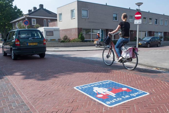 Onder meer door een netwerk van fietsstraten aan te leggen hoopte Enschede de titel Fietsstad 2020 in de wacht te slepen.