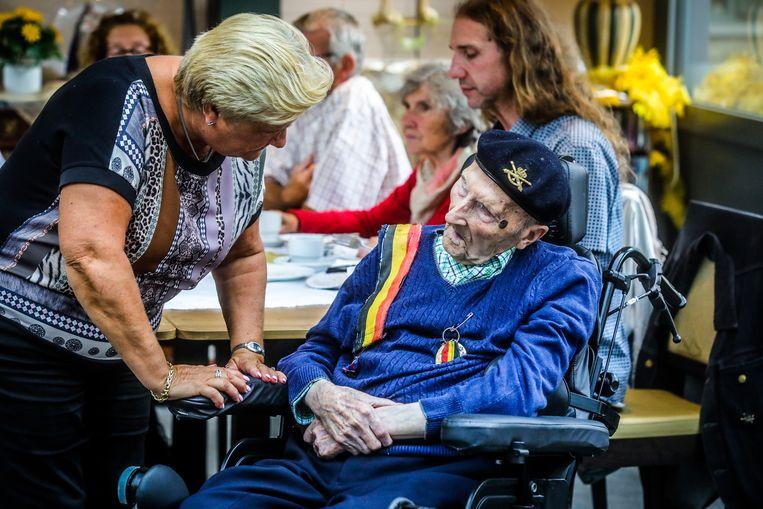 Beernem oudste mannelijke Belg Maurits Stael viert 108 ste verjaardag