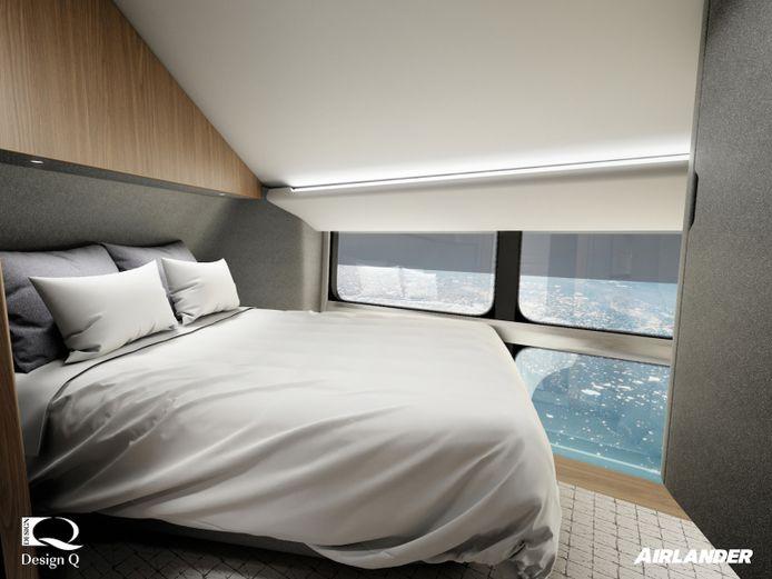 Een kamer in de Airlander 10.