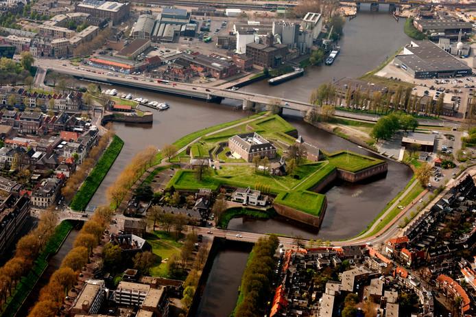 Een deel van Den Bosch waar ontwikkelingen op de planning staan:  Kop van 't Zand, Orthenpoort-Zuid, Zuid-Willemsvaart  en omgeving van de Citadel.