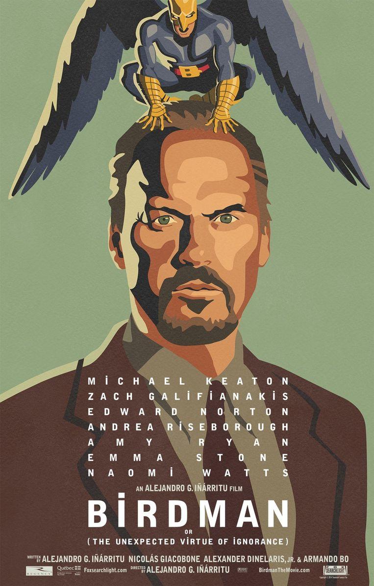 null Beeld Filmposter Birdman