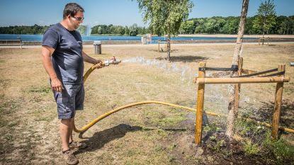Sensor voelt wanneer 62 jonge bomen in domein Sport Vlaanderen water nodig hebben