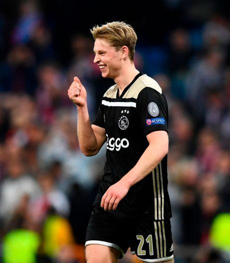 De Jong trots na uitschakelen toekomstig aartsrivaal Real Madrid