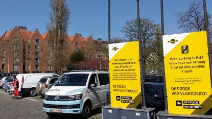 Antwerpse politie maakt parcours Ronde Van Vlaanderen autovrij: vanaf donderdag worden foutparkeerders getakeld