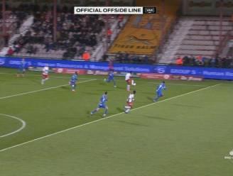 """""""Die lijn was ongelofelijk verkeerd getrokken. Echt om te lachen"""": Kortrijk laakt ook nog eens afgekeurde goal"""