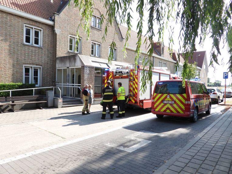 Brandalarm in het woon-zorgcentrum. Gelukkig was er van een echte brand geen sprake.