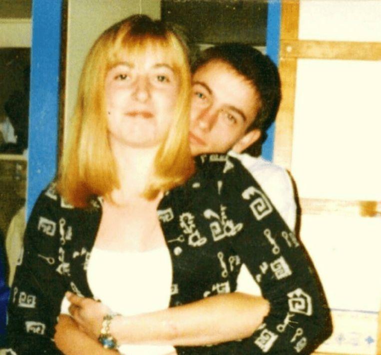 Malcolm en Cheryl als tienerkoppel.