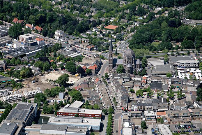 Het centrum van Geldrop.