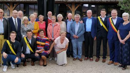 75-jarigen Belzele vieren samen verjaardag
