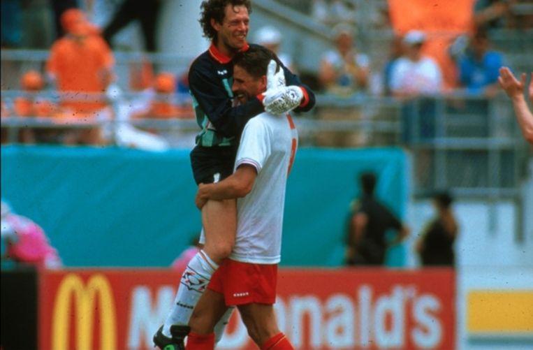 Michel Preud'homme won de Yashin Award als beste voetbalkeeper op het WK van 1994.