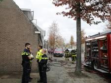 Vergeten waxinelichtje zorgt voor brand in woning in Terheijden